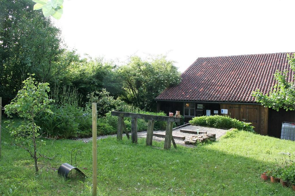 l'arrière de la Maison du Clément