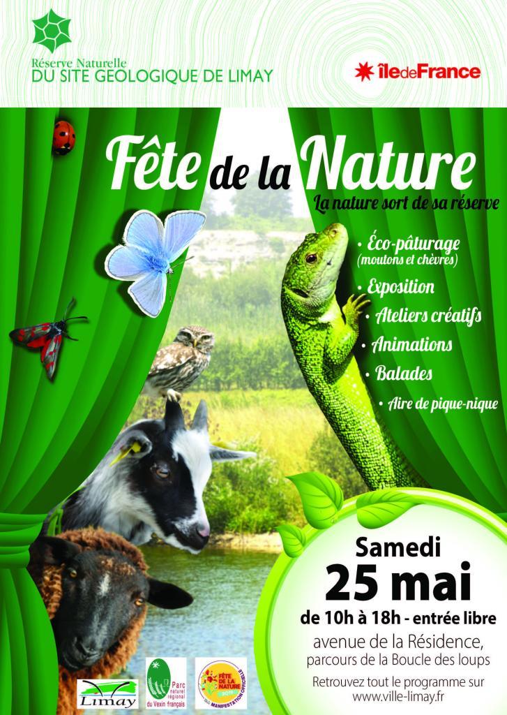 Affiche Fete de la Nature Limay