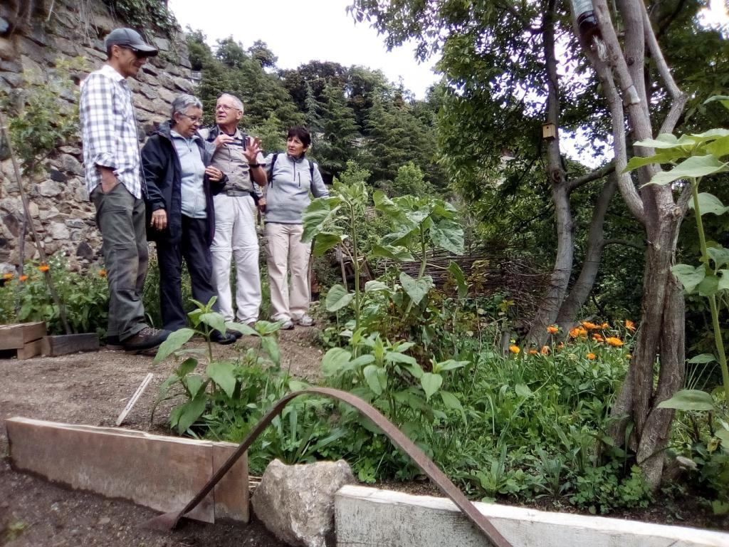 visite au jardin, édition 2017 Fête de la Nature