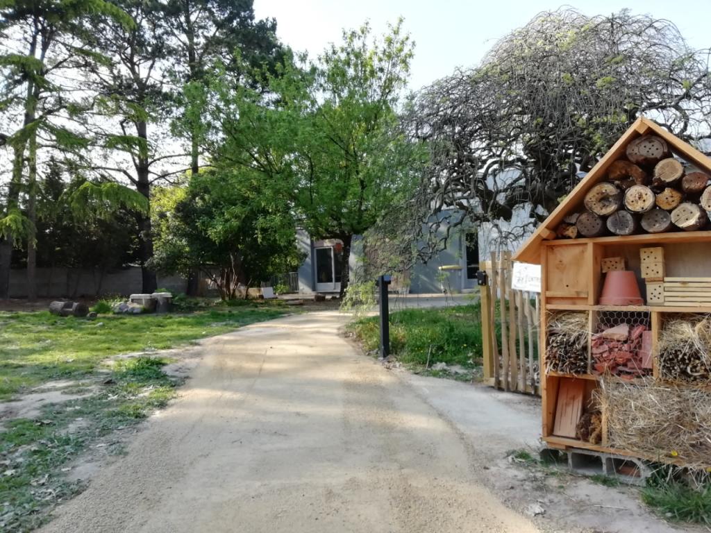 Hôtel à insectes - Oasis du Lieu Utile-Refuge LPO