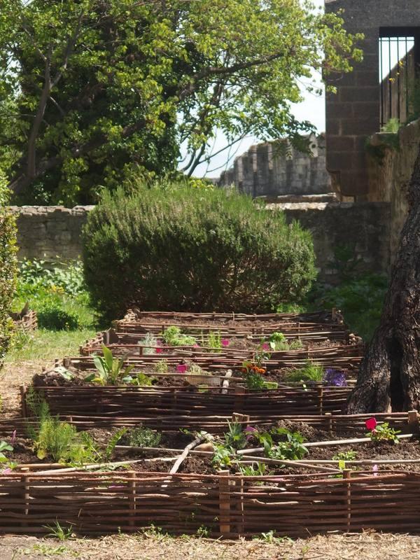 Jardin Fort Saint André