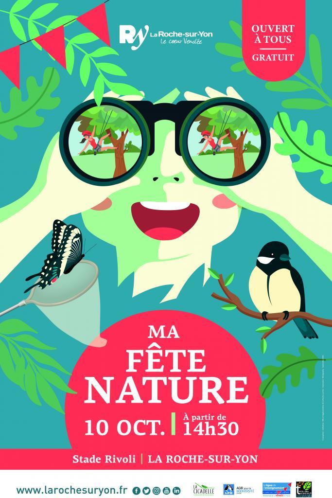Affiche Ma Fête Nature