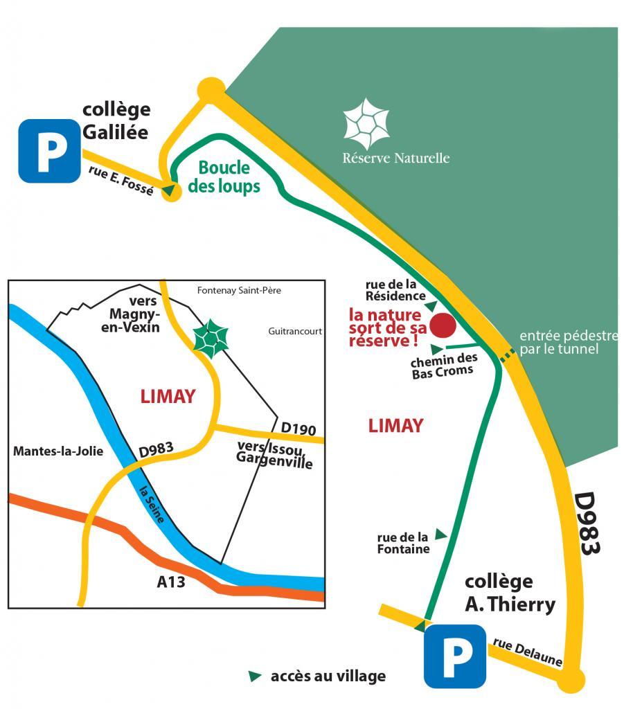 plan d'accès et parking