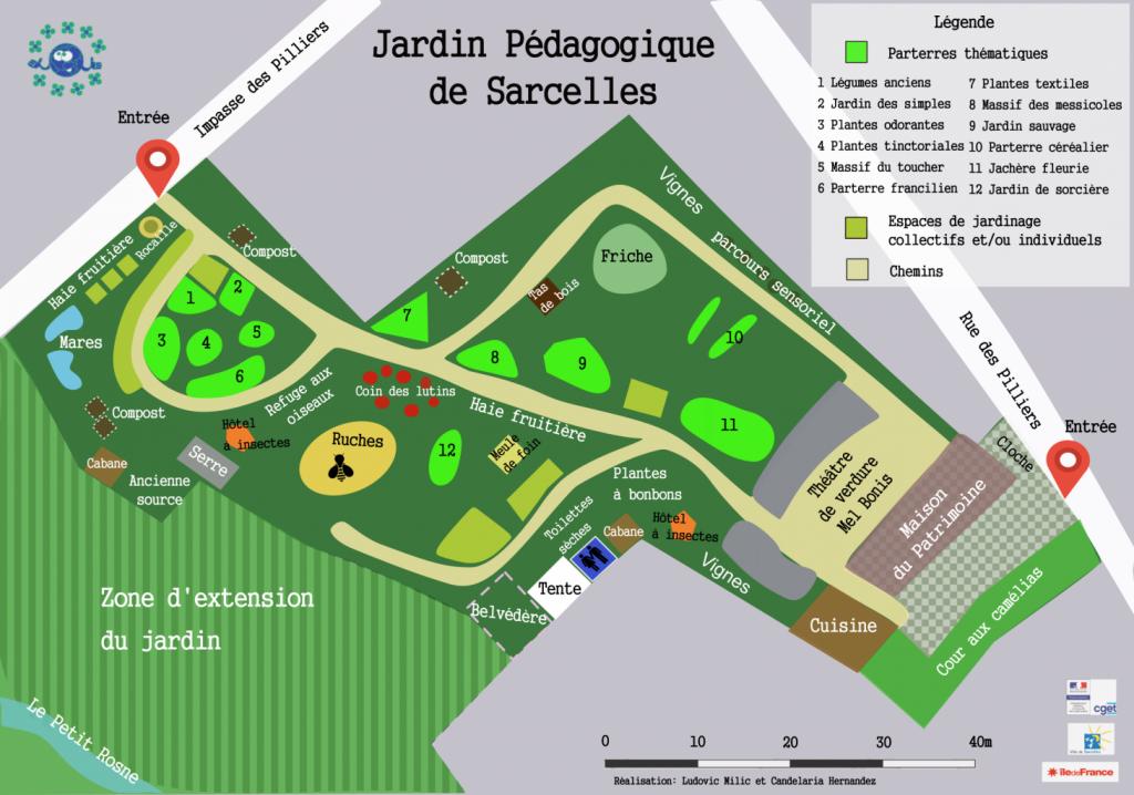 jardin pédagogique de Sarcelles