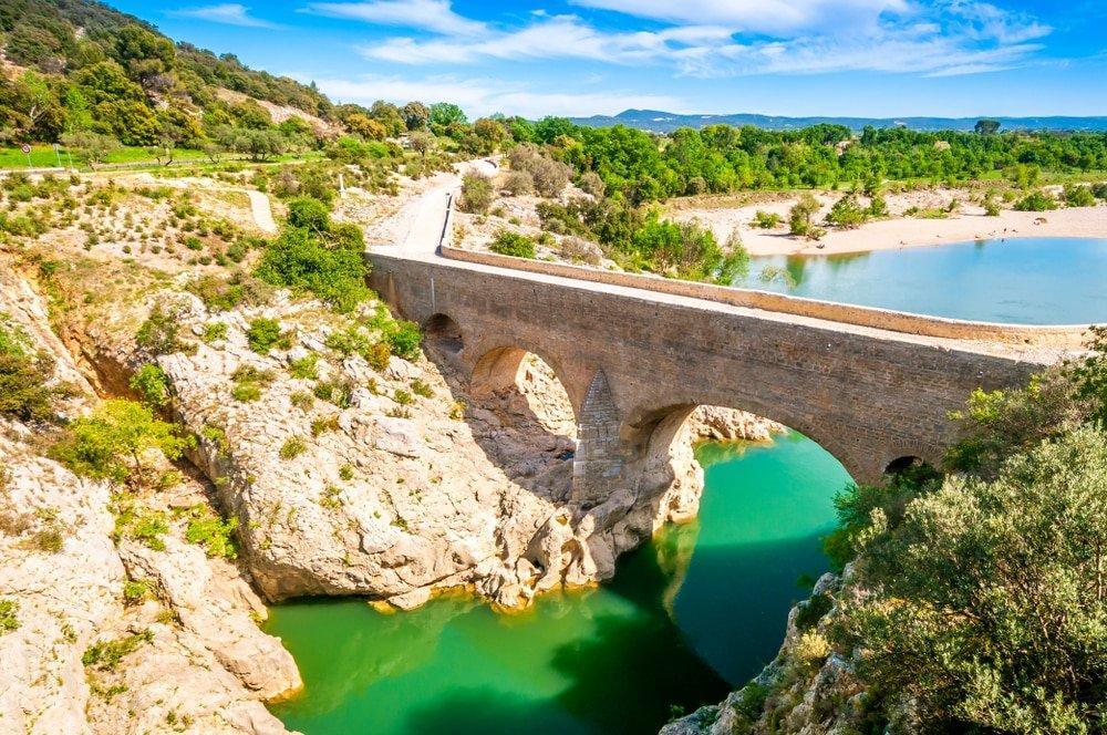 pont du diable, saint guilhem le désert