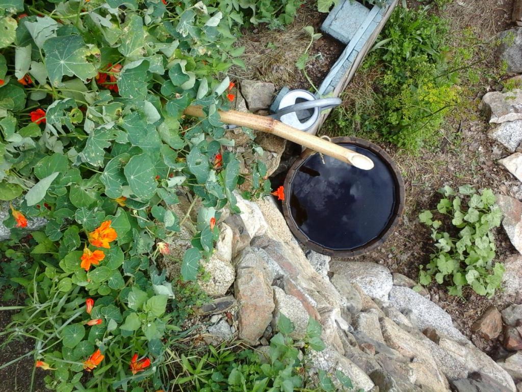 une de nos réserves d'eau l'été dernier